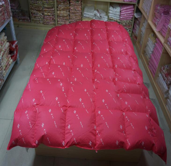Vải Chiffon & Printing  Down-proof cotton wool duvet quilt special hotel cotton fabric (bleached No.