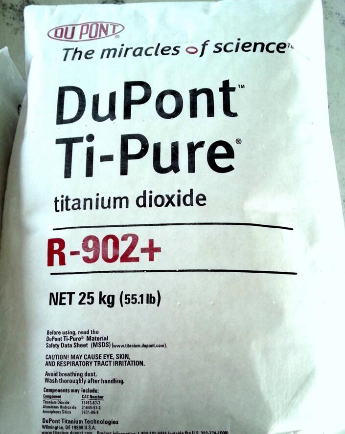 Ti - Pure R - 902 + titanium dioxide rutile [us/Taiwan] imported from dupont titanium dioxide