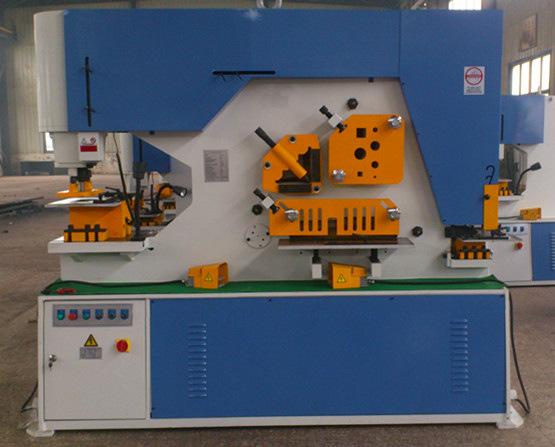 Jingjiang Aoke hydraulic Q35Y series hydraulic combined punching and shearing machine supply high-qu