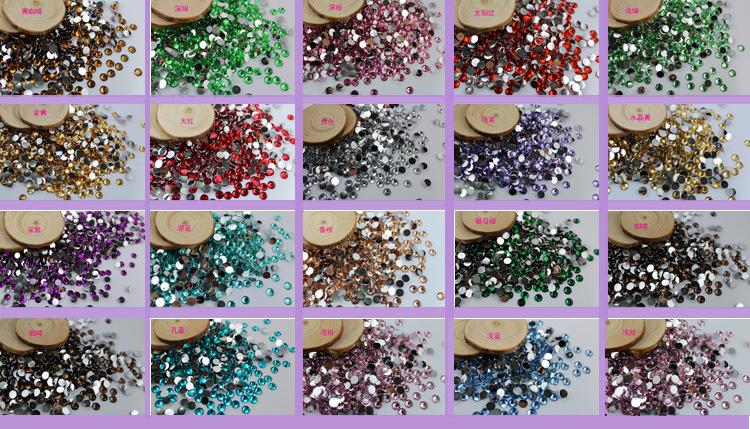 10.000 2m nhựa 3mm 6mm 14 giả kim cương