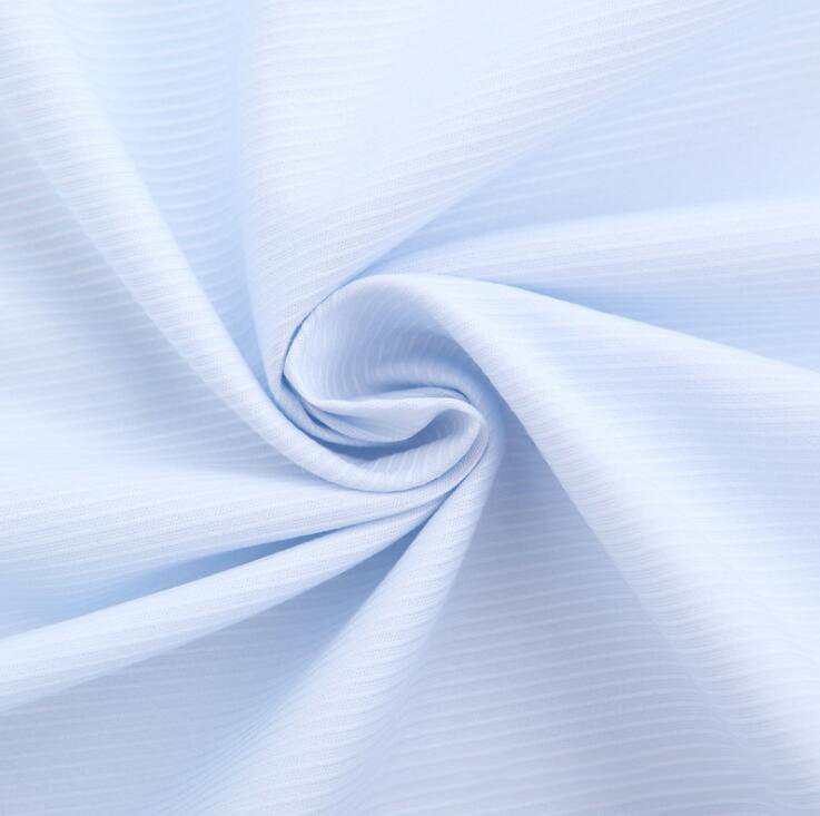 Vải cotton pha polyester Shelf cotton blended twill fabric dyeing factory direct iron woven fabric 1