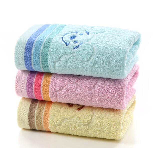 Vải khăn lông   Soft absorbent cotton towel wholesale thickened washrag adult labor back gift box em