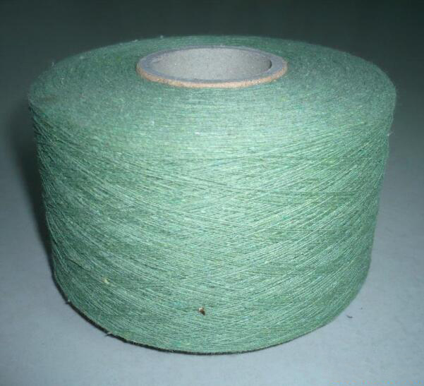 Sợi bông   Recycled cotton yarn manufacturers wholesale 7-21 branched various colors renewable cott
