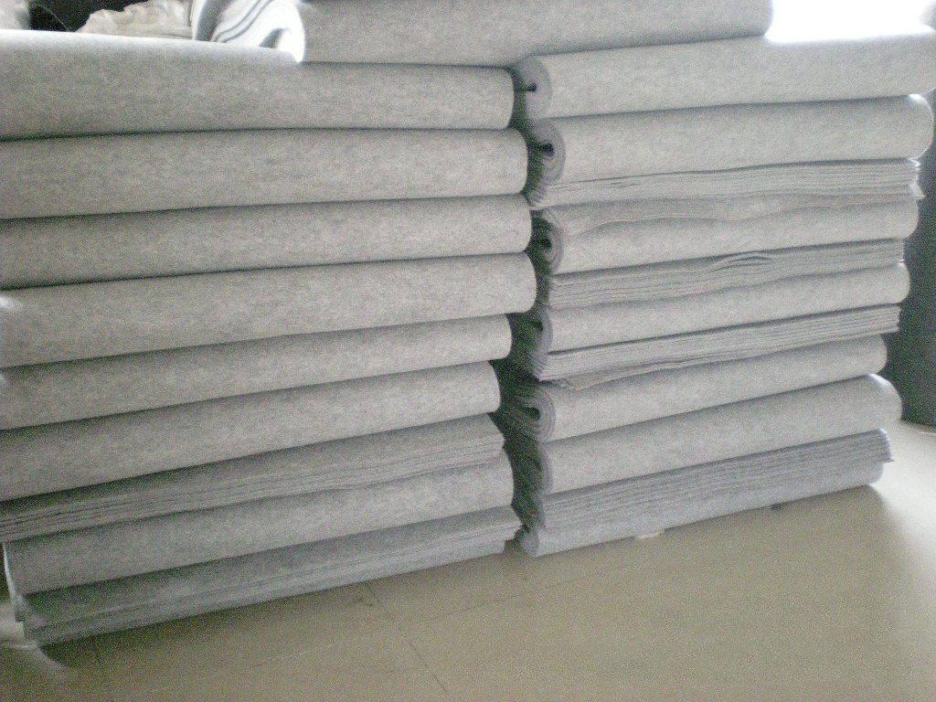 thảm lông   Factory direct supply of custom-made industrial felt oil blankets sheep felt complete q