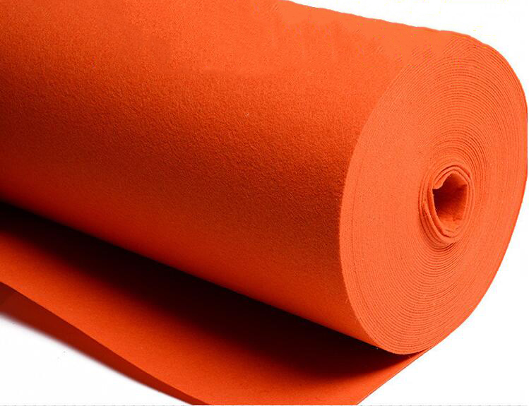 thảm lông   [color] felt the supply process of chemical environmental protection non-woven cloth co