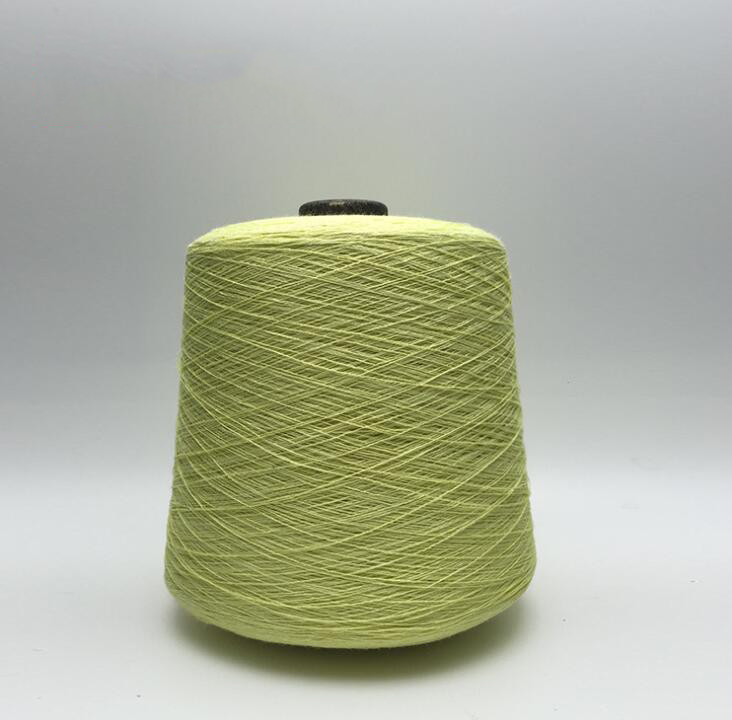 Sợi gai  [Health] factory wholesale industry 24N / 2 colored flax yarn, 100% linen breathable absor