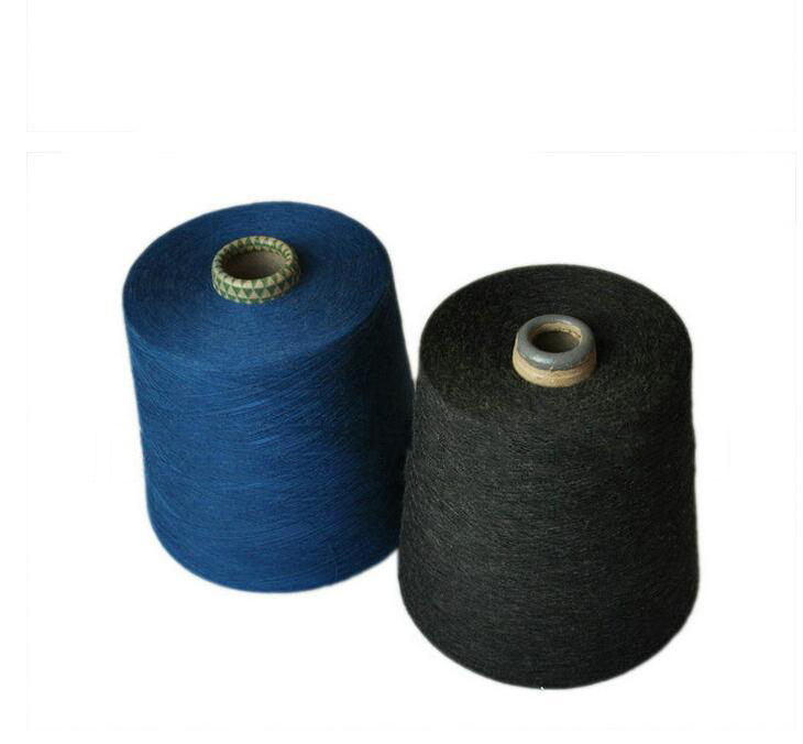 Sợi gai   Production and supply of sticky cotton dyed yarn pure flax yarn color yarn 20S