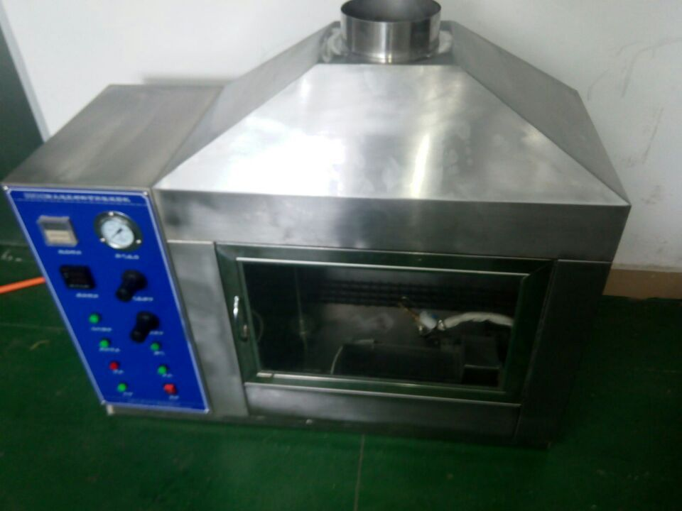 Building component fire resistance testing machine