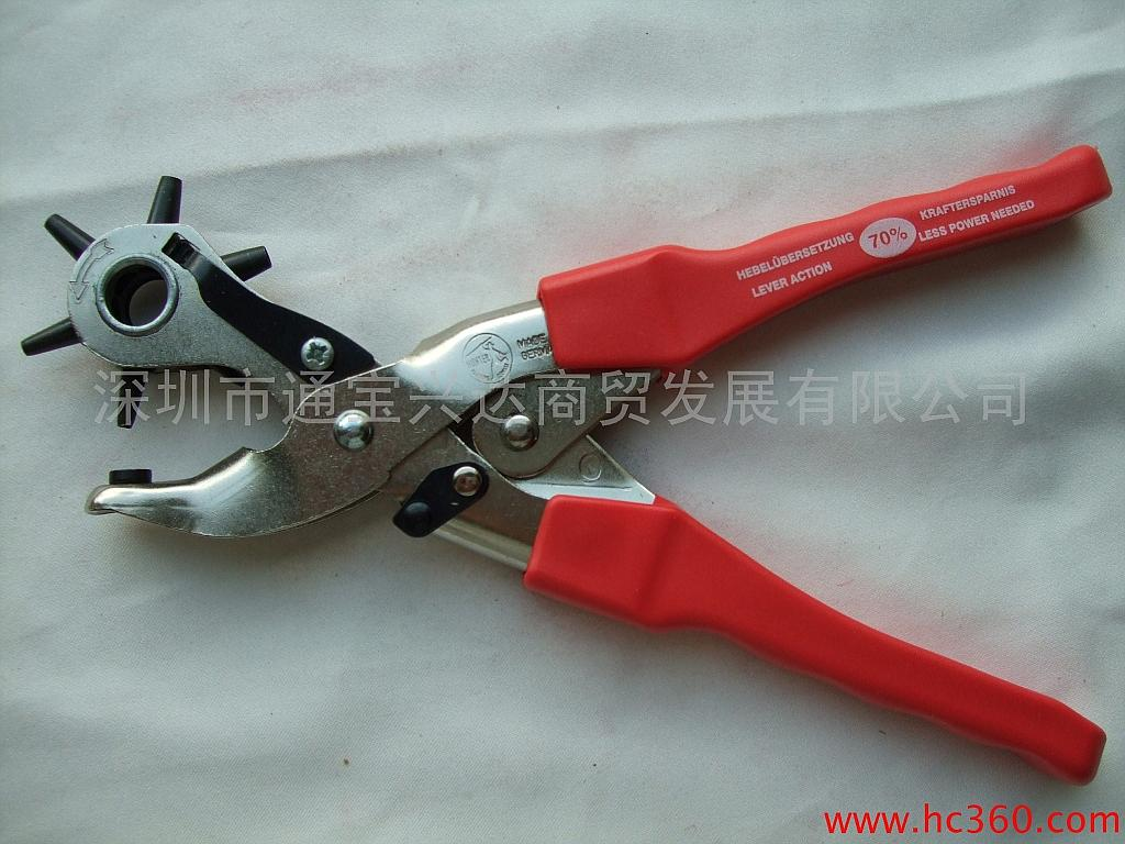Germany imported Hunter370B German Hardware tool belt clamp imported belt punch pliers