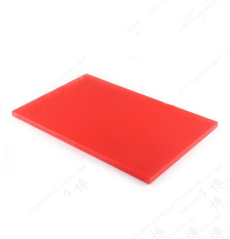 Ván nhựa (cuộn)  Rectangular PE plastic cutting board 1 / 1GN hotel antibacterial plastic cutting bo