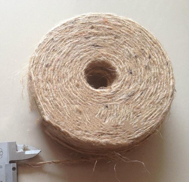 Sợi gai   Hemp yarn manufacturers supply large quantities of jute yarn 28 lbs, 1.0 jute yarn, hemp