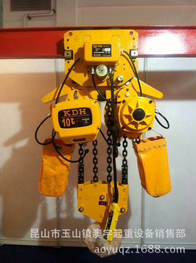 Ma-ní   National standard HSY type small ring chain electric hoist 0.5T fixed ring chain electric h