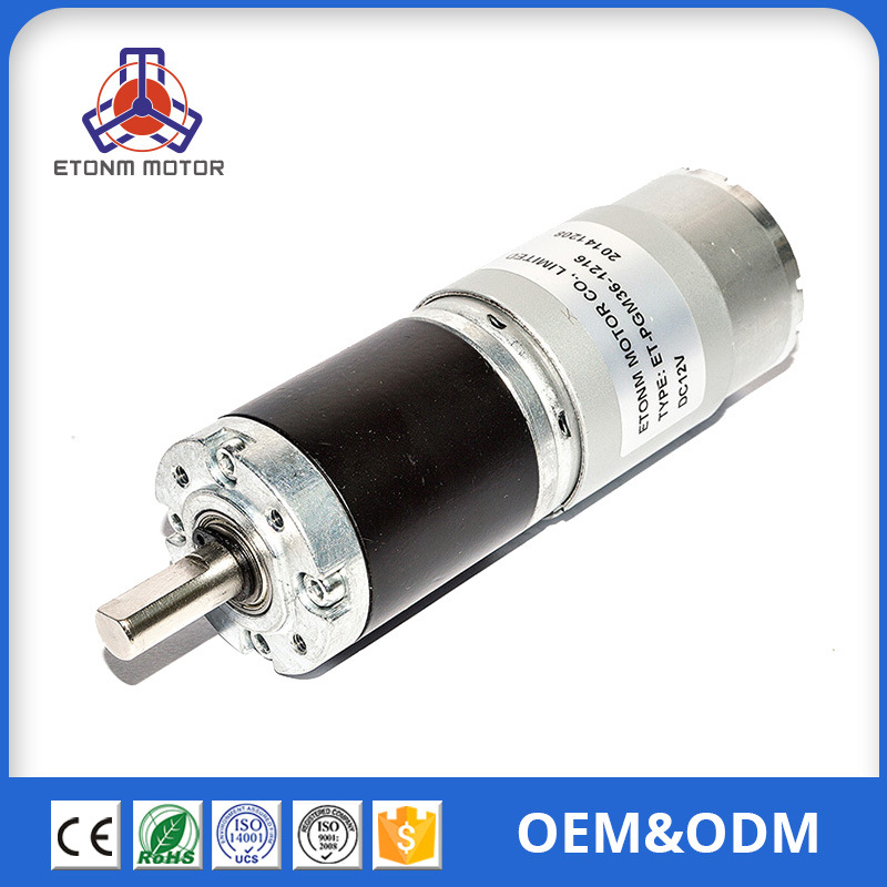 36mm planetary gear reducer motor micro reducer motor manufacturers direct supply