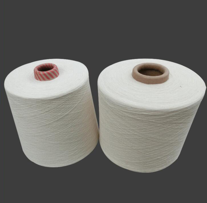 Sợi bông  Manufacturers supply Xinjiang white cotton spinning cotton yarn 32