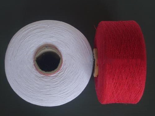 Sợi bông Manufacturers supply eight special red, red, red ordinary cotton yarn, cotton yarn spinning