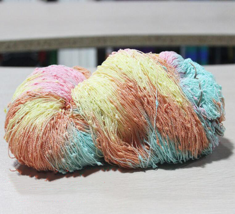 Sợi Fancy   Water beading knot yarn special fancy yarn knitting yarn new