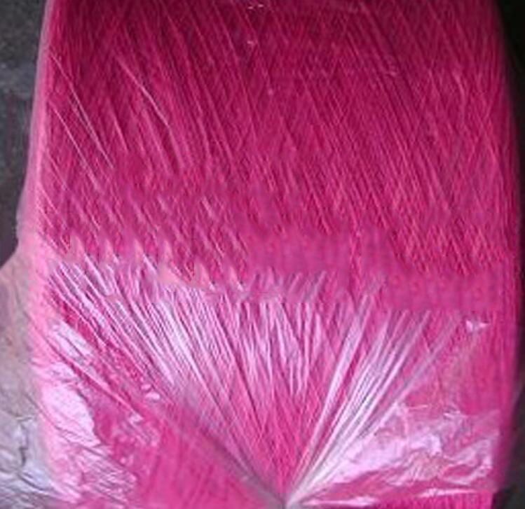 Sợi dệt Factory outlets] 16s / 1 16 Zhi pink yarn