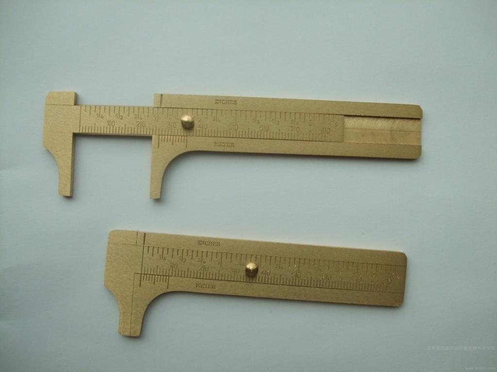 The supply of German Hunter HUNTER copper 80MM manual caliper tool