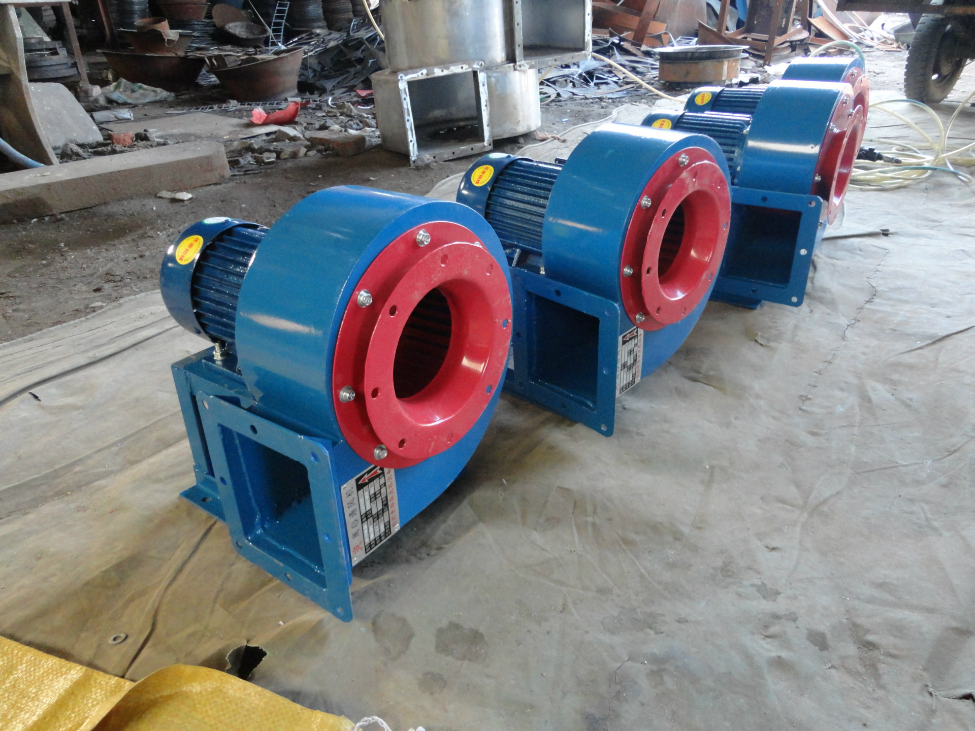 Natural ventilation multivane blower factory direct CF-11NO:4 low noise fan centrifugal fan