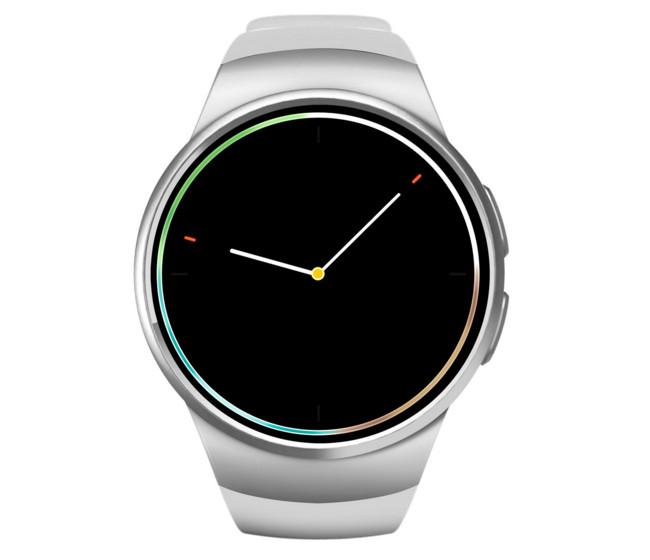 Đồng hồ thông minh   Smart genuine pure round smart watch Bluetooth kw18 new smart wearable Bluetoo