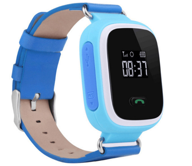 Đồng hồ thông minh   Factory direct sales: smart kids smart wearable phone watch with GPS positioni