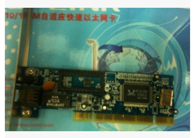 Card mạng  Computer hardware wholesale 8139D 10/100M O-LINK adaptive fast Ethernet card table machi