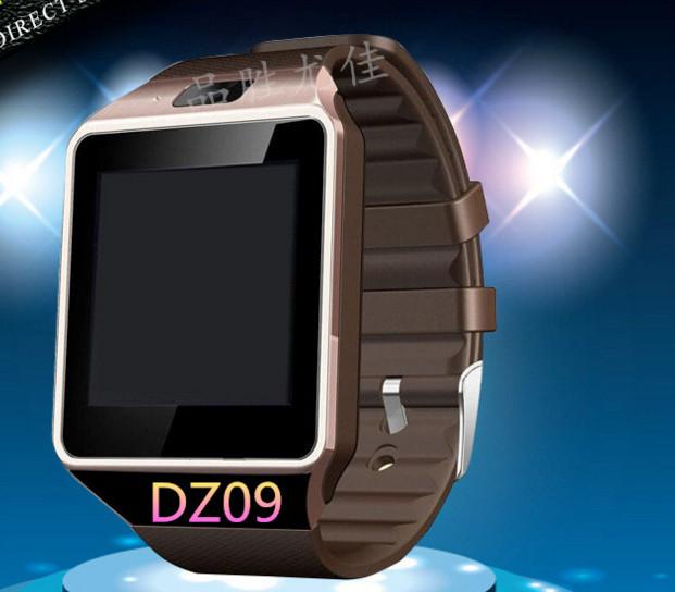 Đồng hồ thông minh   Smart watches DZ09 Bluetooth smart wearable phone card Facebook Mobile Phone W