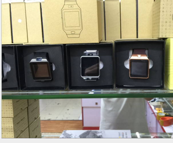 Đồng hồ thông minh   The explosion of GT08 DZ09 smart watches watches QQ card calls WeChat wearable