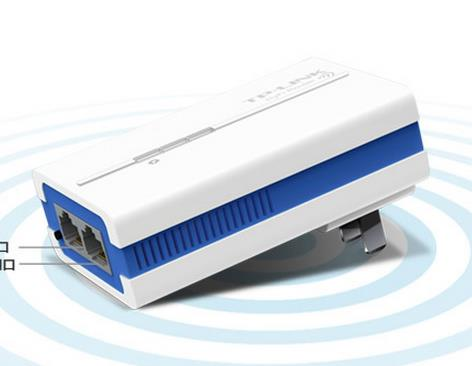 Powerline PLC  TP-LINK TL-H18R/TL-H18E HyFiIntelligent wireless extender kit 200M Cat Power