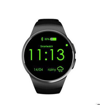 Đồng hồ thông minh   Qiwo full circle smart watch mobile phone Bluetooth kw18 new intelligent weara