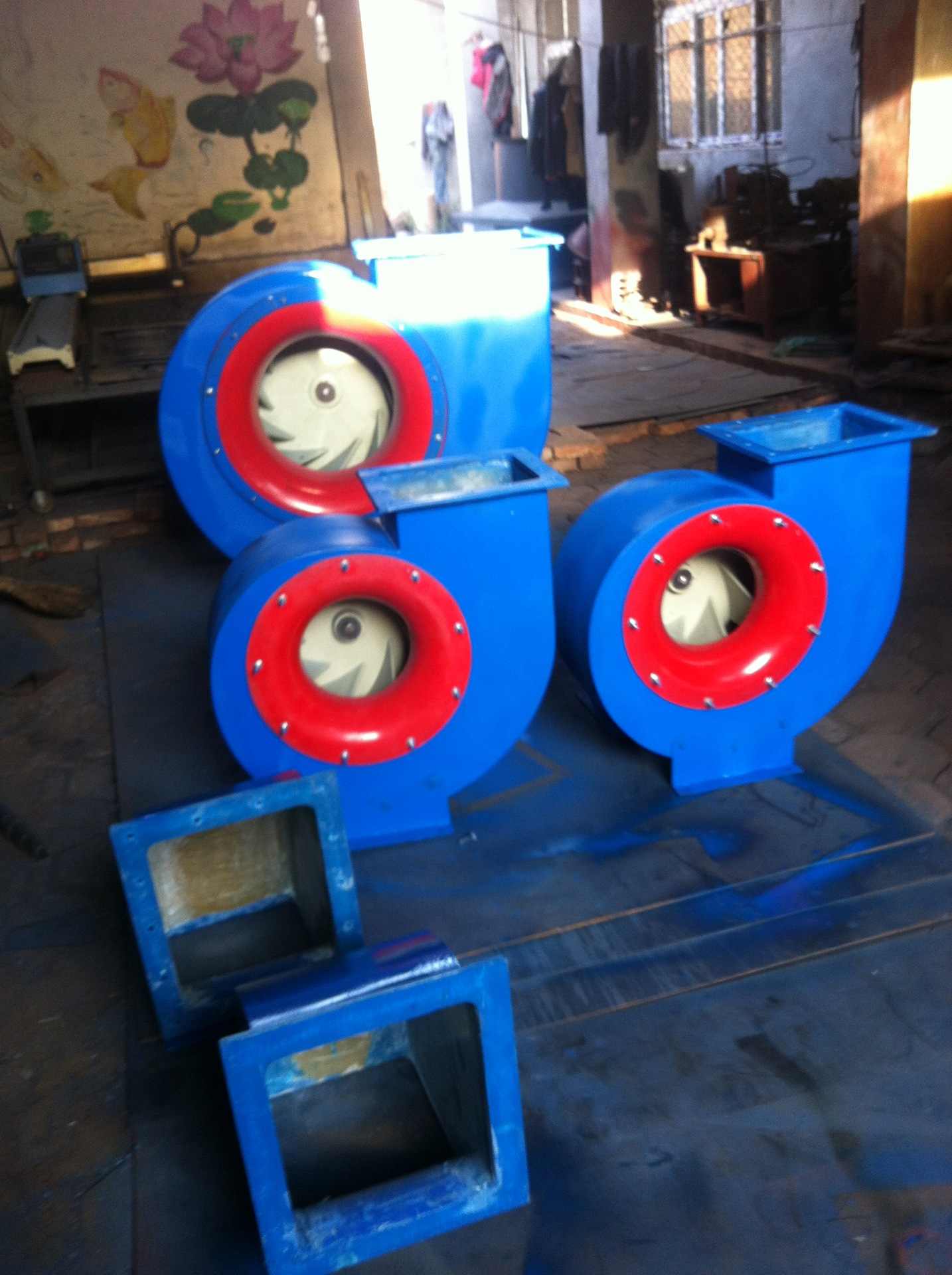 Liaocheng Shandong belt transmission 4-72-12C centrifugal fan processing all kinds of high-quality c