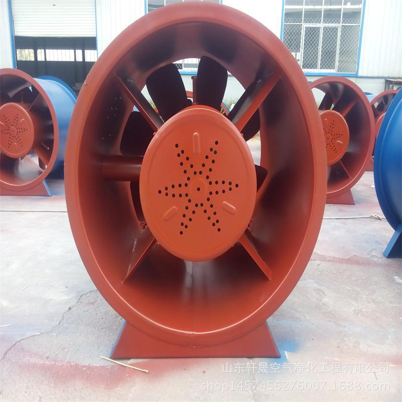 Quạt thông gió   The high temperature exhaust fan type silencer exhaust fan exhaust fan fire pressu