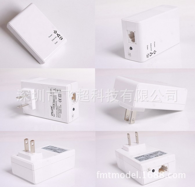 Powerline PLC  Mini wireless power cat 200M WiFi power line adapter F08121-2 a pair of support IPTV