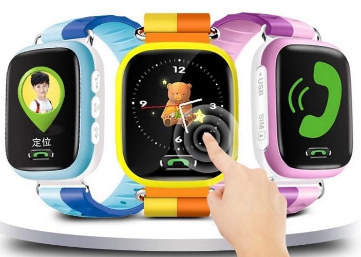 Đồng hồ thông minh   Y19S touch screen 1.44 inch color screen children watch children watch phone c