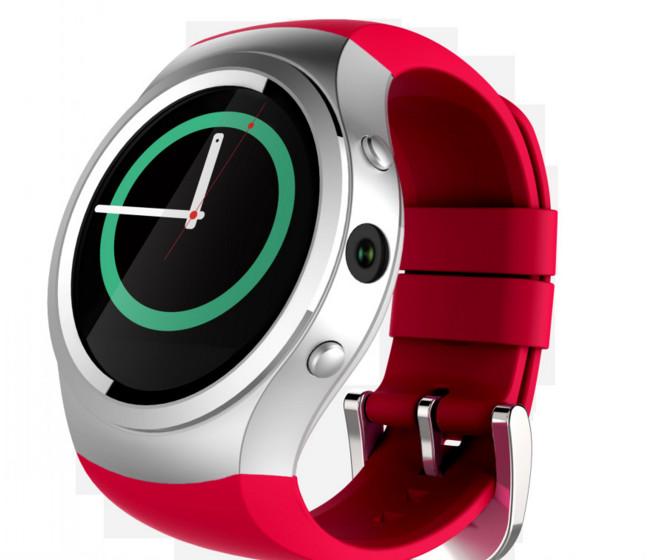 Đồng hồ thông minh   The new D20 smart watches circular screen GPS positioning card Bluetooth phone
