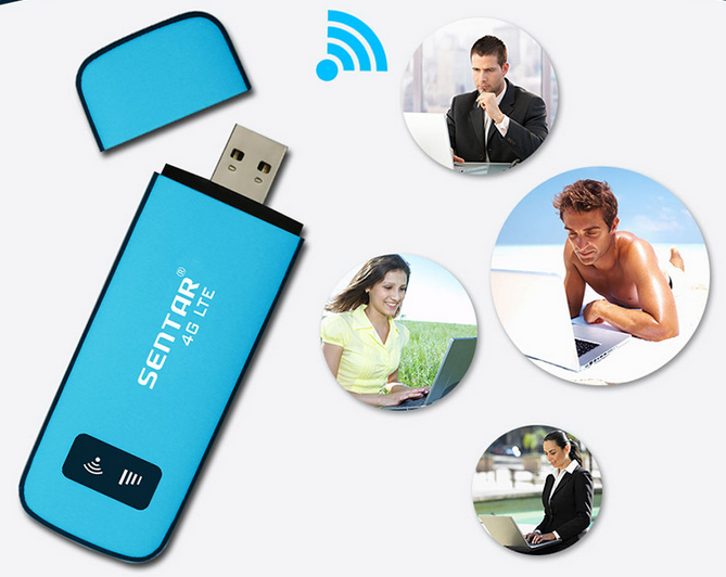 Card mạng 3G/4G  Telecom, unicom, 4 g wireless network card USB wireless wifi on-board mifi device