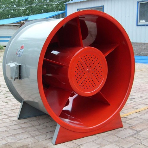 Ultra low noise fire high temperature exhaust fan SWF-I mixed flow two speed fan medium pressure fan
