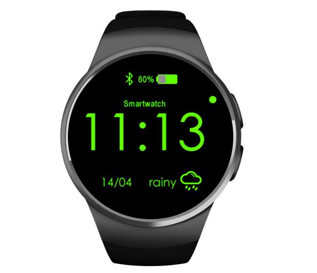 Đồng hồ thông minh   Qiwo intelligent authentic pure round smart watches kw18 new Bluetooth smart w