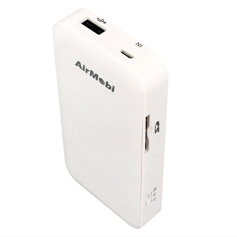 WiFi di động  Mirage AirMobi iStorage portable 3G wireless router 300M portable WiFi router