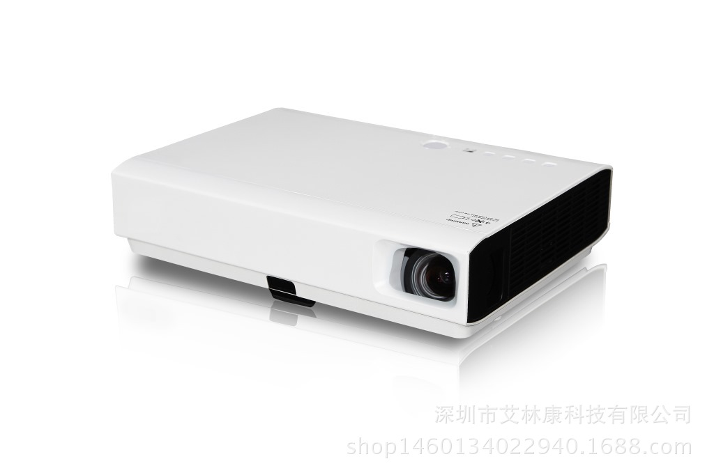 New DLP laser projector, home office teaching high-definition WIFI smart short focus projector