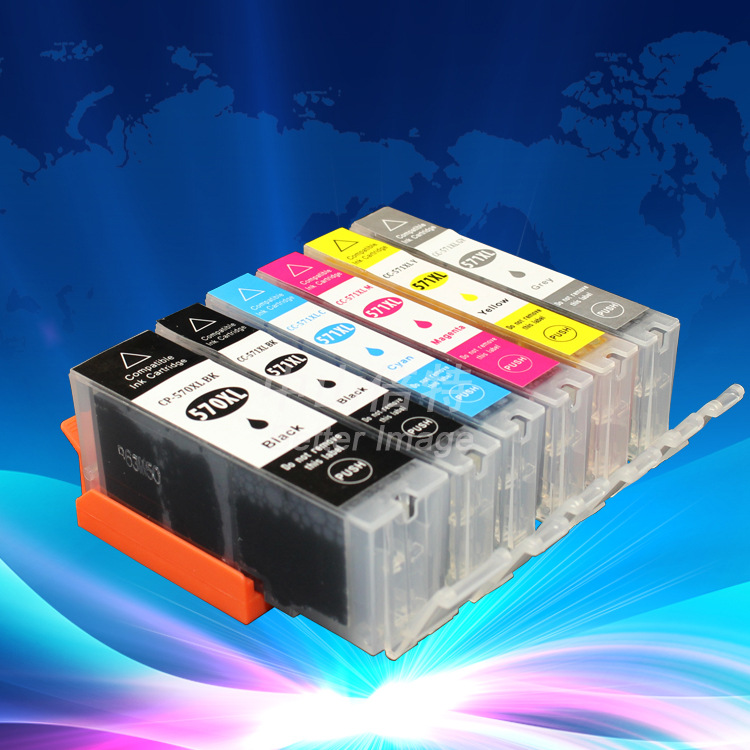 Hộp mực nước  Adapt to CANON MG7750 775177527753 printer cartridge PGI570 cartridge 571