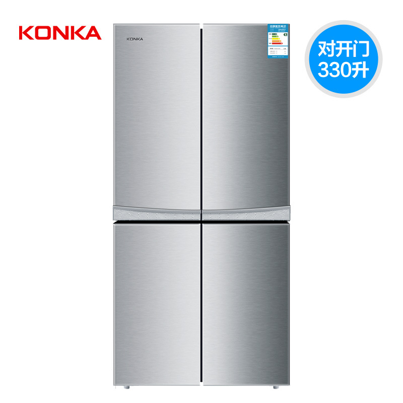 Tủ lạnh  Factory wholesale large capacity refrigerator door Jia Kang on double door household level