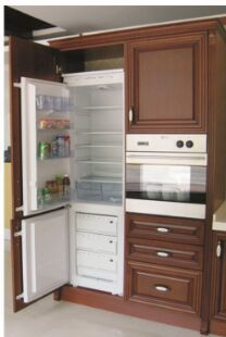 Double layer refrigerator for export