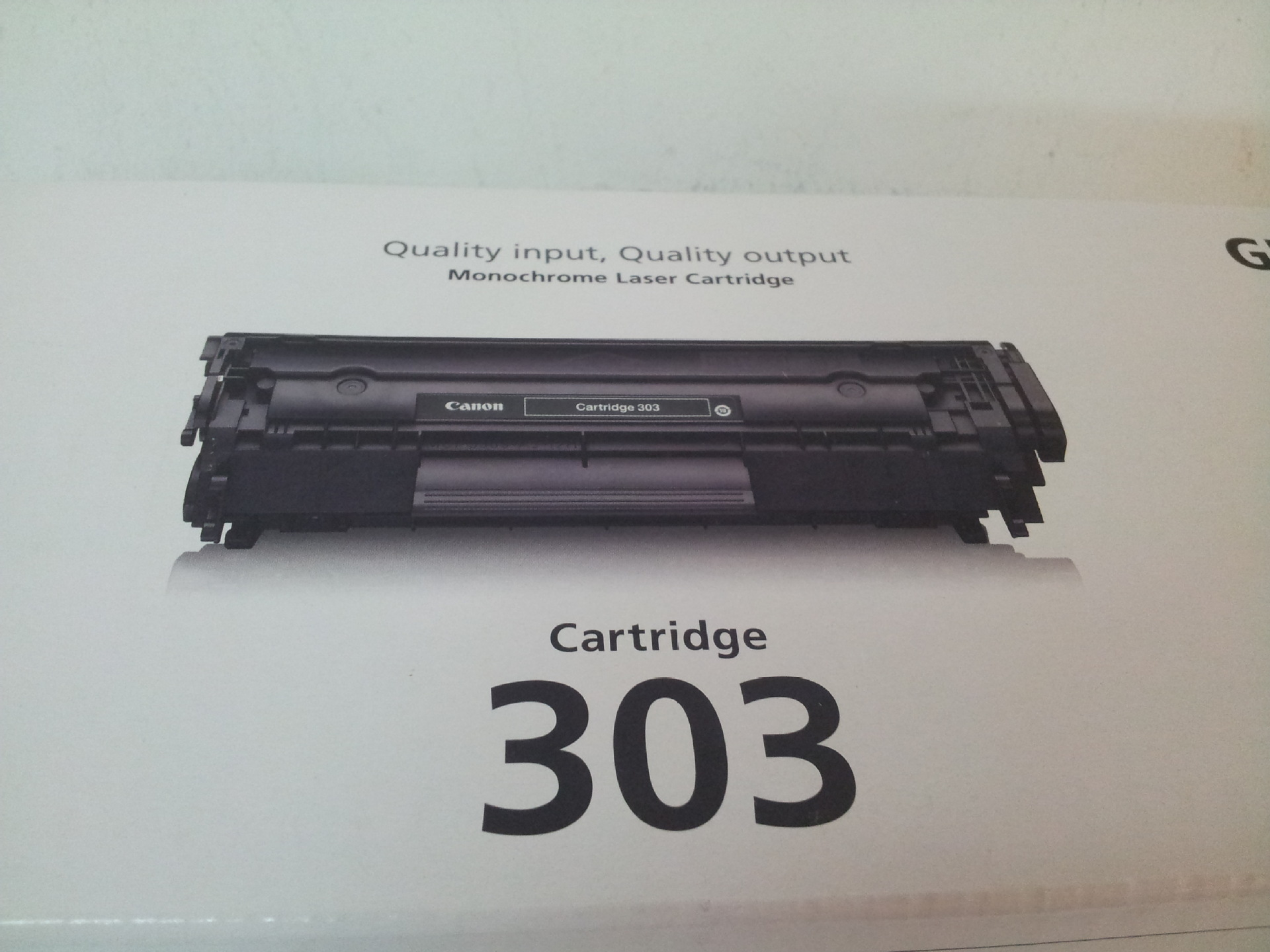 World technology manufacturers supply Canon303 black Canon original toner cartridges wholesale