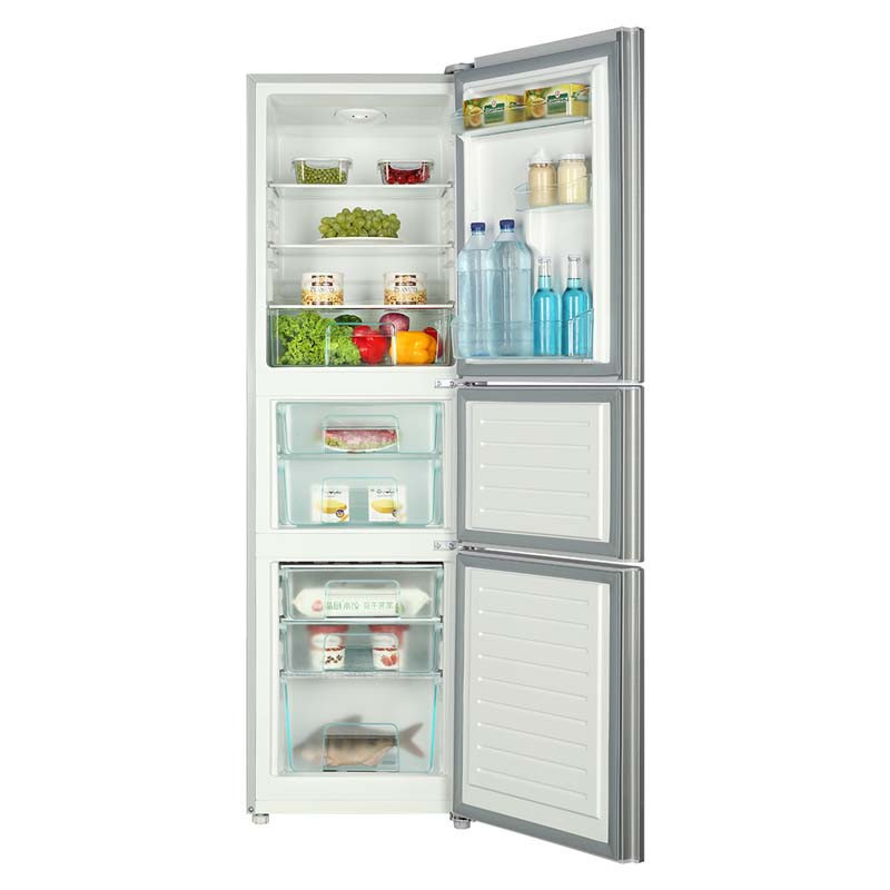 Tủ lạnh  Wholesale (Haier) BCD-206STPQ three door soft refrigeration energy saving home Haier refri