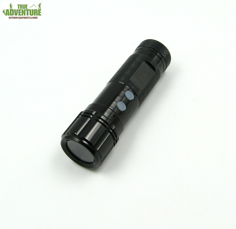 New outdoor sports camera HD flashlight Helmet Camera fashion Mini DV