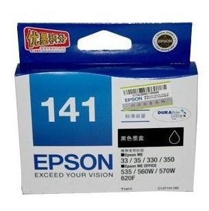 Hộp mực nước  Original EPSON T141 T1411 cartridges original authentic Quanguolianbao wholesale busi