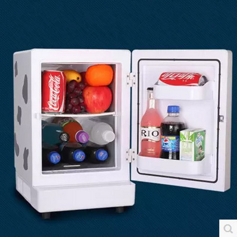 Tủ lạnh  Brother sent home dual-use electronic cold and hot box 13.8L car refrigerator refrigerator