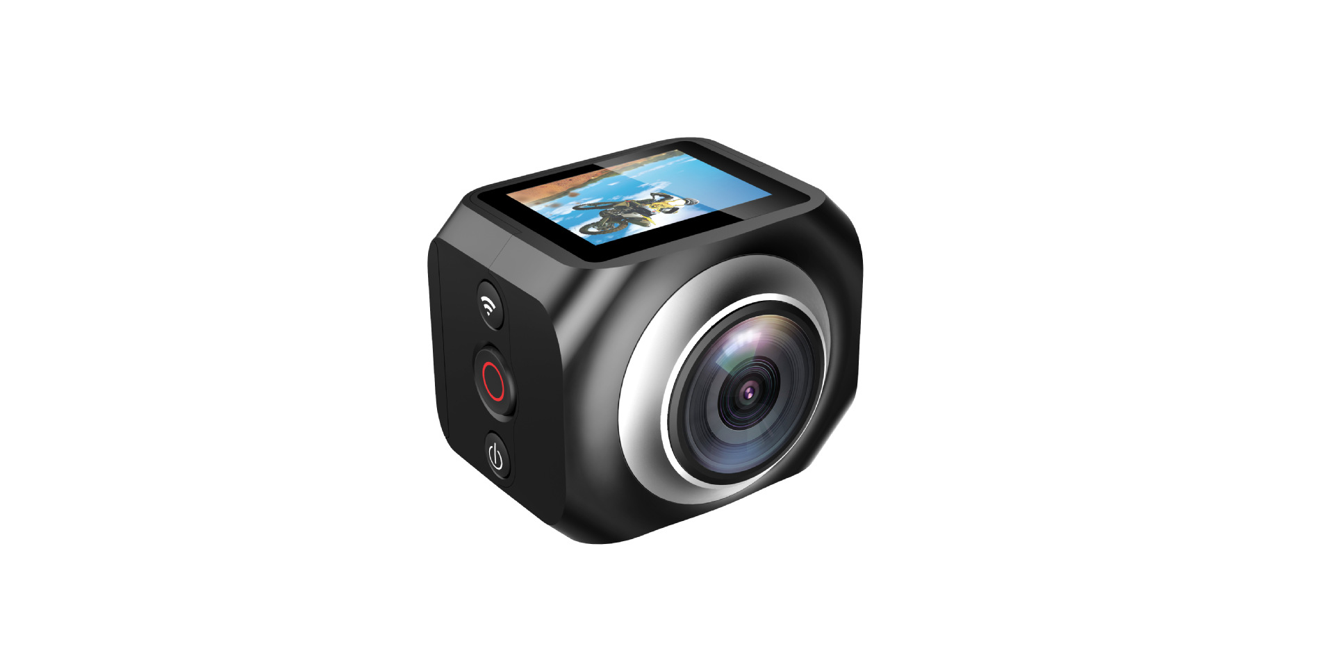 H360 super wide-angle panoramic camera fisheye Mini HD VR digital camera MINI DV
