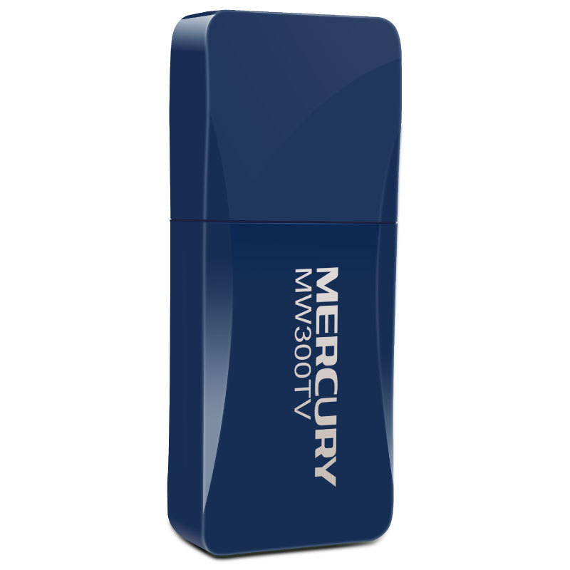 Mercury MW300TV mobile portable WiFi TV card desktop wireless receiver USB wireless card